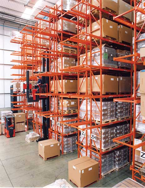 Redirack manufacture & install Heavy Duty Pallet Racks for the Potter Group