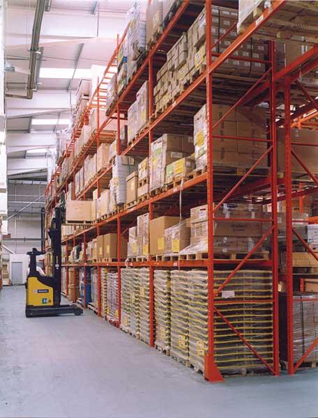 Redirack design bespoke Motorola warehouse system