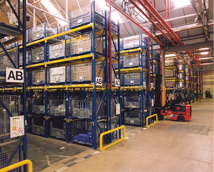 Redirack Pallet Racking and Drive-In Pallet Racking in Peugeot warehouse