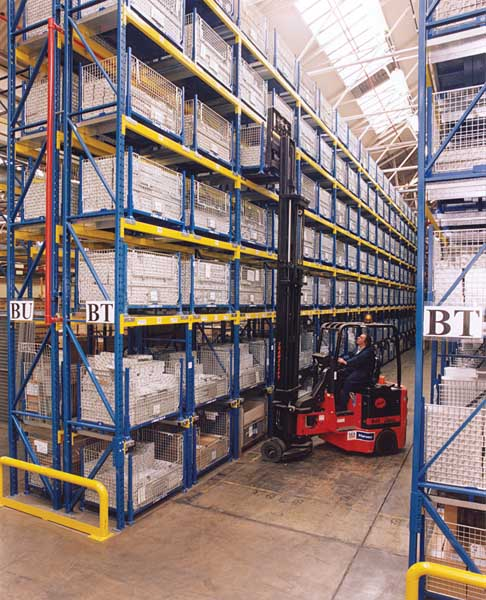 Peugeot utilise bespoke Pallet Racking storage solution from Redirack