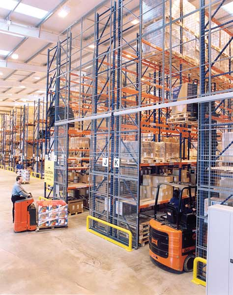 Bespoke Pallet Racking solutions from Redirack