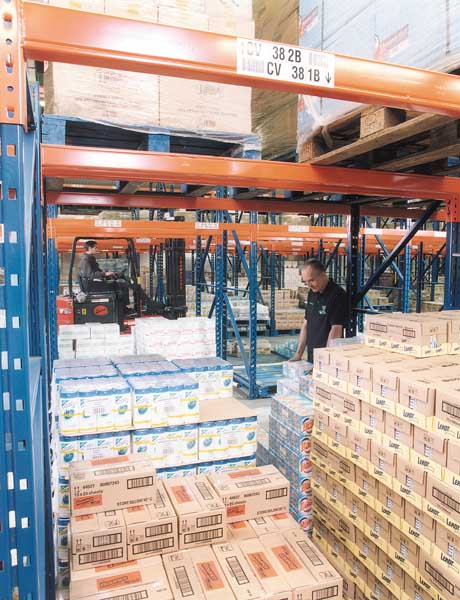 DCS Europe select Redirack Pallet Racking manufactured & installed with speedy turnaround