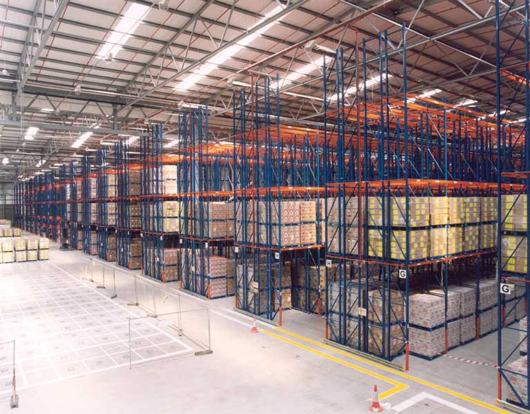 Redirack Double Deep Racks offer a low cost, high productivity storage solution