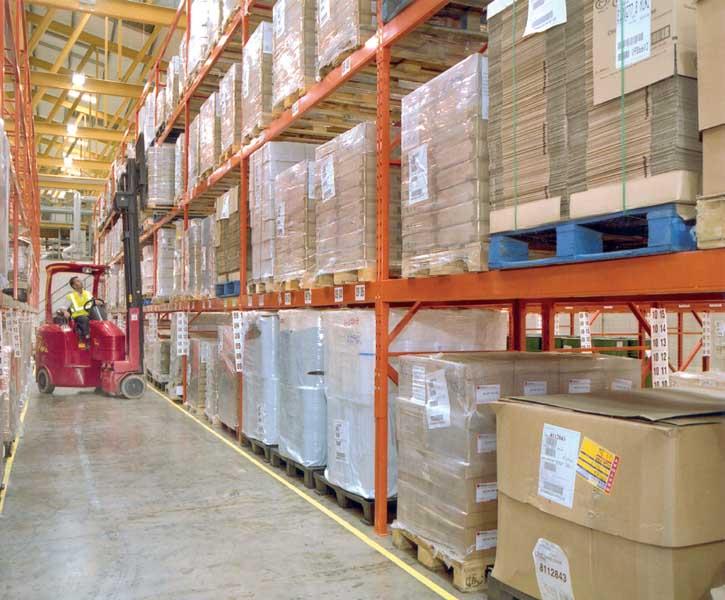 Unilever opt for Redirack Narrow Aisle Pallet Racking