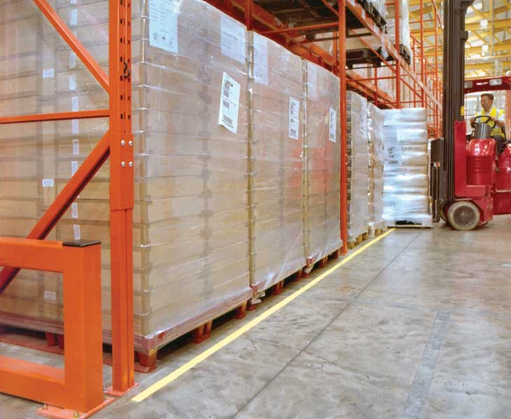 Redirack Narrow Aisle Pallet Racking manufactured in the UK