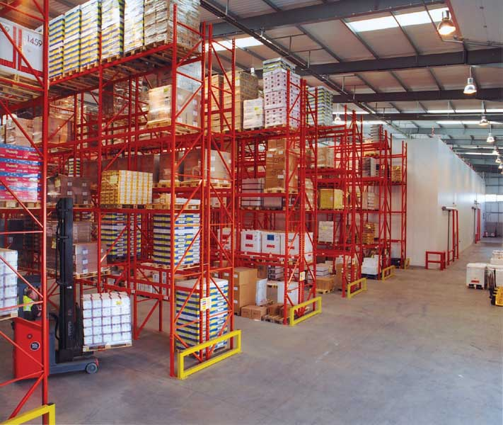Redirack delivers Pallet Racking solution for Coolcare Logistics chilled store