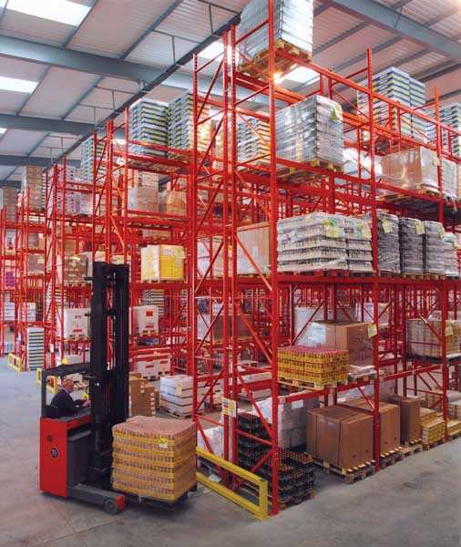Frozen & chilled Storage Distributor Coolcare select Redirack Bespoke Storage Solution
