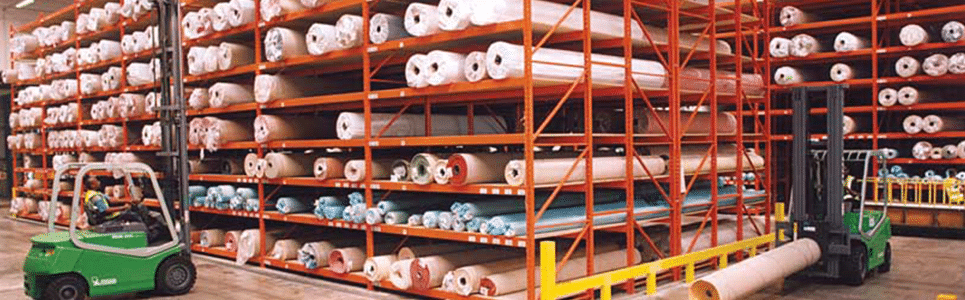 Redirack supply racking
