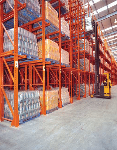 Redirack Drive-In Pallet Racking