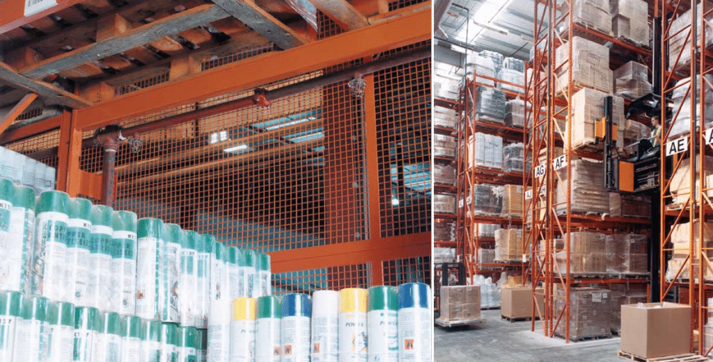 Highly Flammable Racking