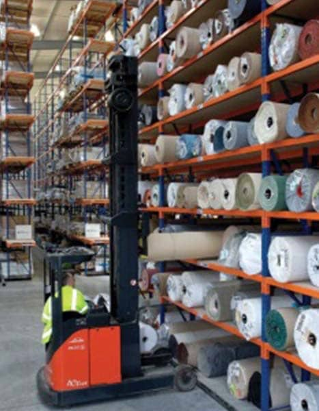 carpet racking systems