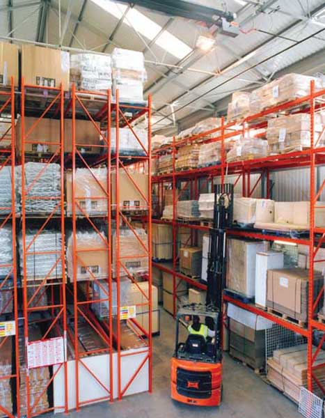 Redirack Double Deep Pallet Racking