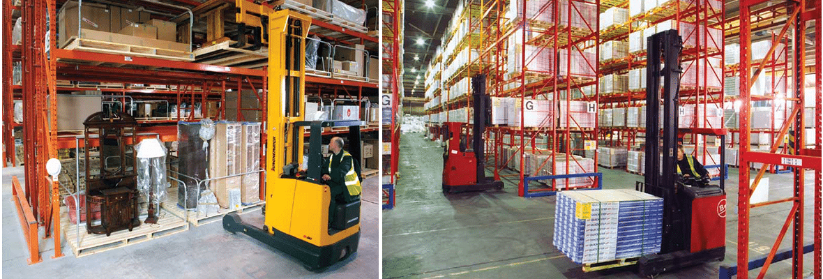 Redirack manufacture and supply Bespoke Pallet Rack Solutions to UK's Furniture Industry