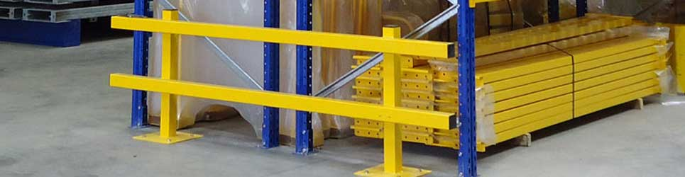 pallet racking protection products