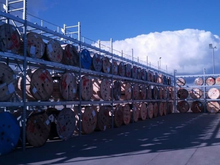 galvanised racking