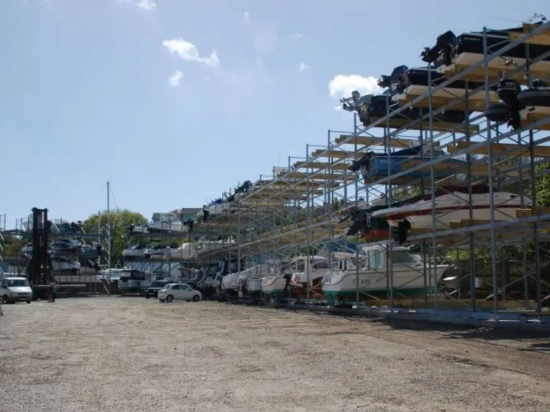 boat racking systems - Dale Sailing