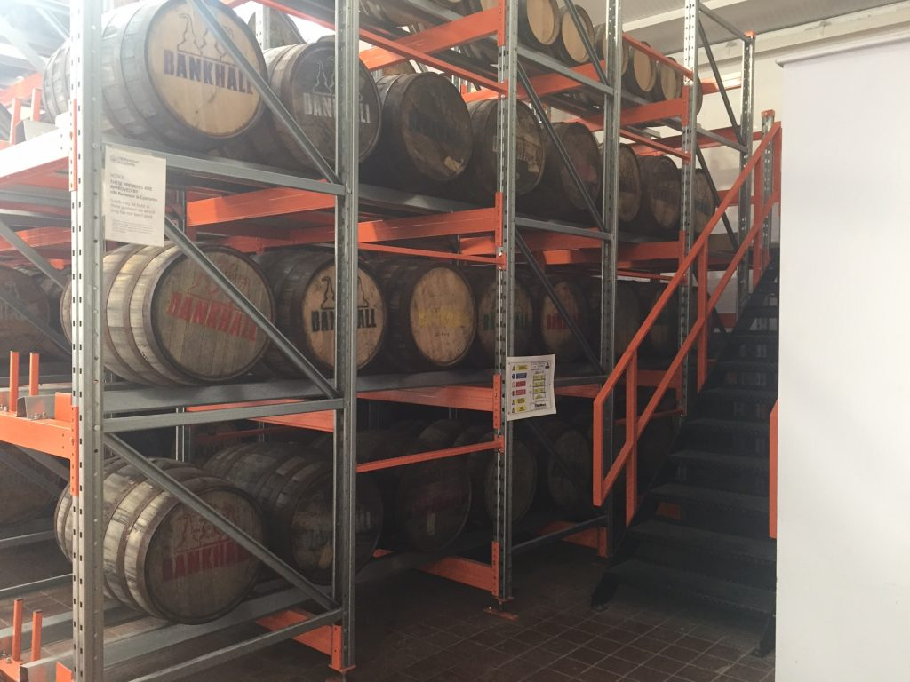 cask and barrel racking