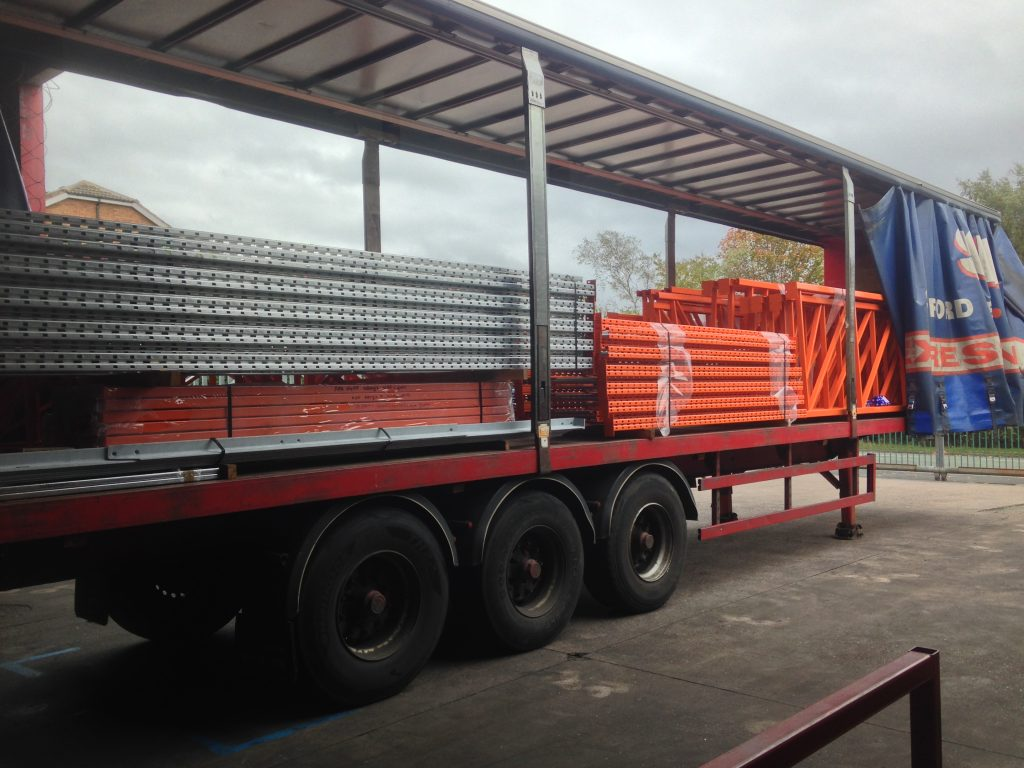 redirack lorry